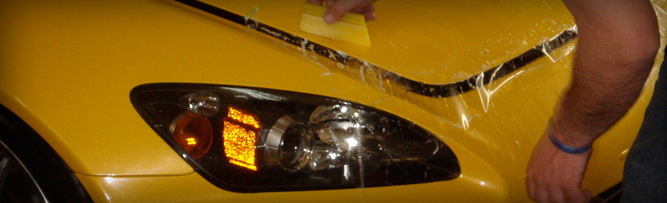 3M Paint Protection Film Yellow Vehicle