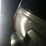 Paintless Dent Repair on Bumper