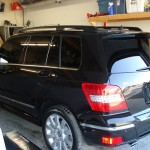 Repaired Black SUV