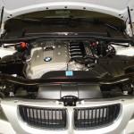 Silver BMW Motor